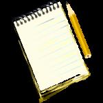 Oszczędzaj papier, zużyj stare pisma i zeszyty