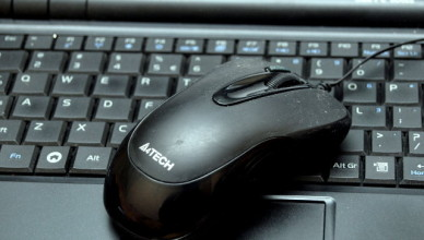 myszka do laptopa
