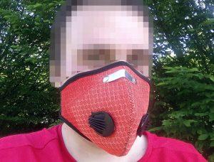 Maseczka do biegania - maska, w której da się biegać