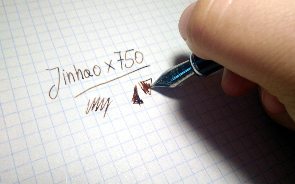 Test pióra Jinhao x750 - najlepsze tanie pióro do podpisów